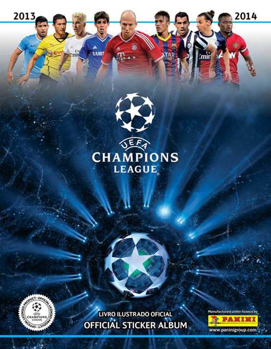 251013 Album Champions League Panini