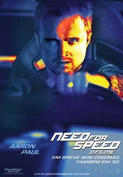 Need for Speed Pôster Individual texto