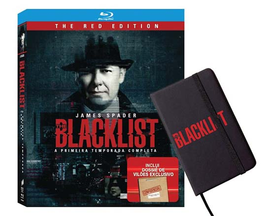 Pre vendaBD_THE BLACKLIST - 1ª TEMPORADA COMPLETA_V40154BD