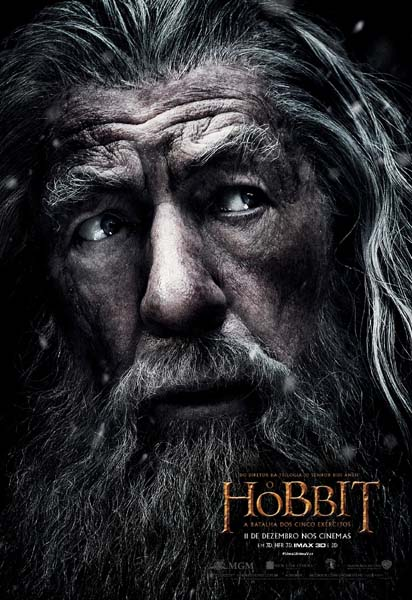 Hobbit pôster Gandalf