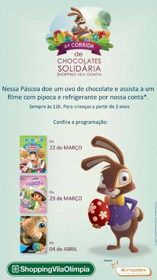 ShoppingVilaOlimpia - 4º Corrida de Chocolates Solidária (2)