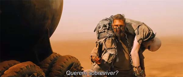 Mad Max Trailer 2 legendado