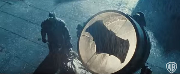 Batman vs Superman trailer comic con c