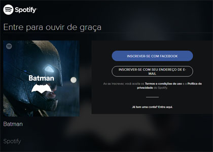 Spotify Batman playlist