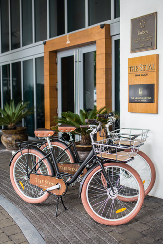The Setai Miami Bikes