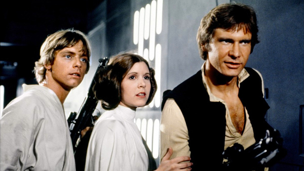 Star Wars IV Filmes nerds Telecine