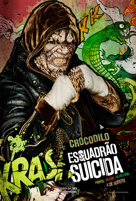Esquadrao Suicida - Comic Book Character Art_Crocodilo