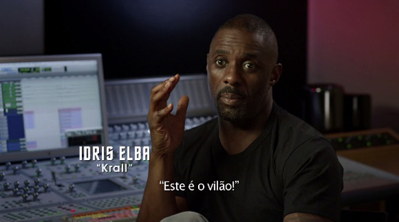 Idris Elba Star Trek vídeo