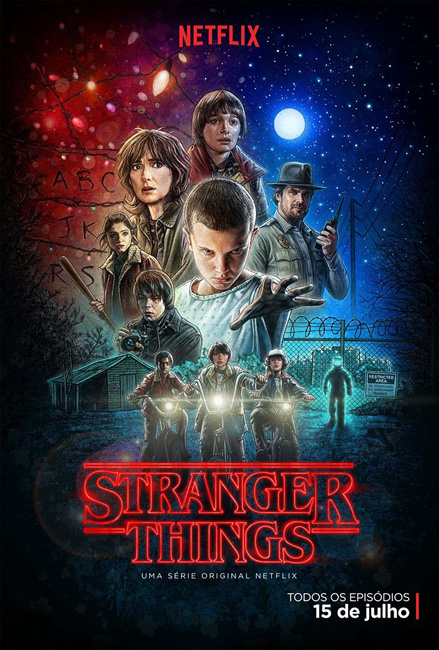 Stranger Things pôster
