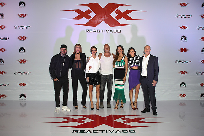 xXx: Return of Xander Cage - Mexico Photocall & Press Conference