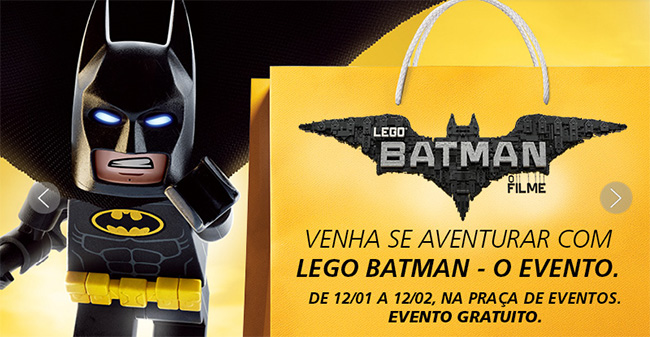 LEGO Batman shoppings RJ